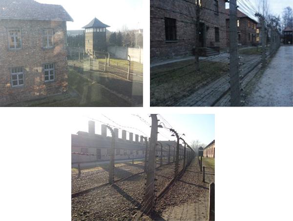 Auschwitz I, esterni