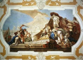 Giovanni Battista Tiepolo, Il giudizio di Re Salomone