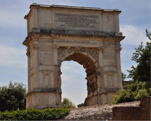 L'Arco di Tito a Roma