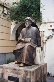 Statua di Mosè Maimonide a Cordova